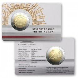Letland 2 euro 2019 Zonsopkomst BU coincard