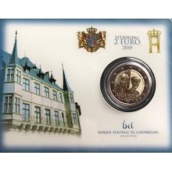 Luxemburg 2 euro 2019 Charlotte - BU coincard