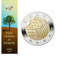 Malta 2 euro 2019 Natuur & Milieu UNC in coincard