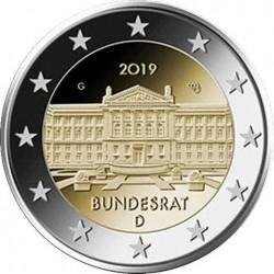 Duitsland 2 euro 2019 Bundesrat UNC