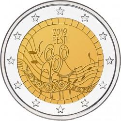 Estland 2 euro 2019 Songfestival UNC