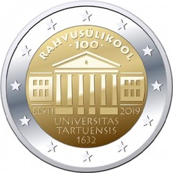 Estland 2 euro 2019 Universiteit van Tartu UNC