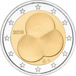 Finland 2 euro 2019 Grondwet UNC