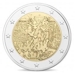 Frankrijk 2 euro 2019 Berlijnse Muur UNC