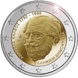 Griekenland 2 euro 2019 Andreas Kalvos UNC