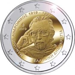 Griekenland 2 euro 2019 Manolis Andronicos UNC