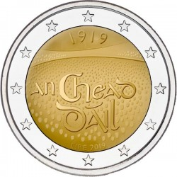 Ierland 2 euro 2019 Dail Ereann UNC