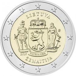 Litouwen 2 euro 2019 Samogitia UNC