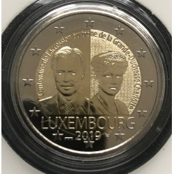 Luxemburg 2 euro 2019 Charlotte - UNC muntteken Sint Servaas + Mercuriusstaaf