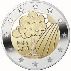 Malta 2 euro 2019 Natuur & Milieu UNC zonder muntteken