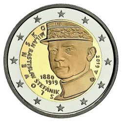Slowakije 2 euro 2019 Stefanik UNC