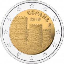 Spanje 2 euro 2019 Avila UNC