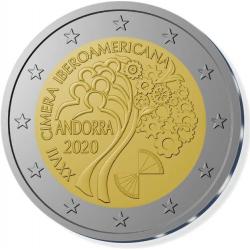 Andorra 2 euro 2020 Ibero-Amerikaanse Top UNC