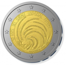 Andorra 2 euro 2020 Universeel Vrouwenkiesrecht UNC
