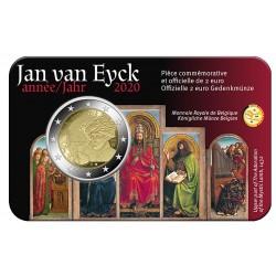 Belgie 2 euro 2020 Jan van Eyck BU coincard FR