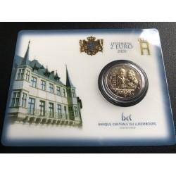 Luxemburg 2 euro 2020 Prins Charles - BU coincard