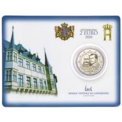 Luxemburg 2 euro 2020 Hendrik van Oranje Nassau - BU coincard