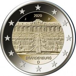 Duitsland 2 euro 2020 Brandenburg Potsdam UNC