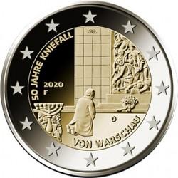 Duitsland 2 euro 2020 Knieval Warschau UNC