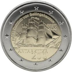 Estland 2 euro 2020 Expeditie Antartica UNC