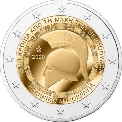 Griekenland 2 euro 2020 Slag om Thermopylae UNC