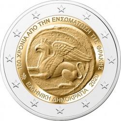 Griekenland 2 euro 2020 Unie van Thracie UNC
