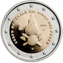 Italie 2 euro 2020 Brandweer UNC