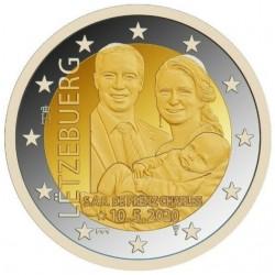 Luxemburg 2 euro 2020 Prins Charles - Relief - UNC muntteken Servaasbrug + Mercuriusstaaf