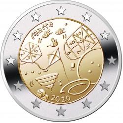 Malta 2 euro 2020 Spelletjes UNC zonder muntteken