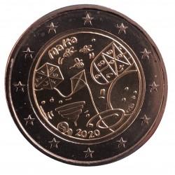 Malta 2 euro 2020 Spelletjes UNC met Frans muntteken