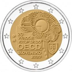Slowakije 2 euro 2020 OECD UNC