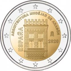 Spanje 2 euro 2020 Aragon UNC