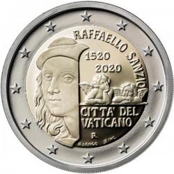 Vaticaan 2 euro 2020 Raffaello Sanzio BU in blister