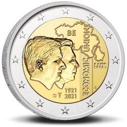 Belgie 2 euro 2021 Bleu UNC