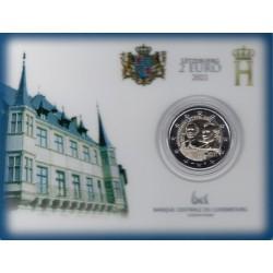 Luxemburg 2 euro 2021 Jean - BU coincard