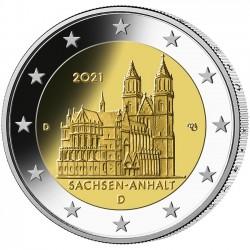 Duitsland 2 euro 2021 Sachsen-Anhalt UNC