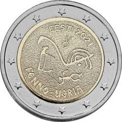 Estland 2 euro 2021 Fins-Oegrische Volkeren UNC