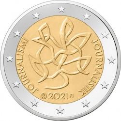 Finland 2 euro 2021 Journalistiek UNC