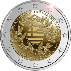 Griekenland 2 euro 2021 Griekse Revolutie UNC