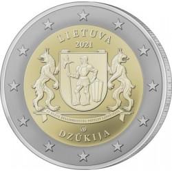 Litouwen 2 euro 2021 Dzukija UNC
