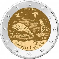 Litouwen 2 euro 2021 Zuvintas UNC