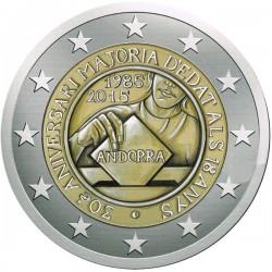 Andorra 2 euro 2015 Stemrecht UNC