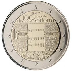 Andorra 2 euro 2017 Volkslied van Andorra UNC