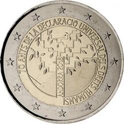 Andorra 2 euro 2018 Rechten van de Mens UNC