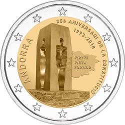 Andorra 2 euro 2018 Grondwet UNC