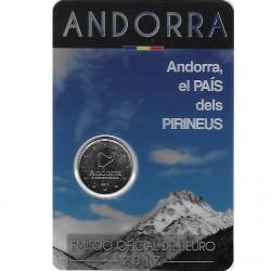 Andorra 2 euro 2017 Land van de Pyreneeën BU coincard
