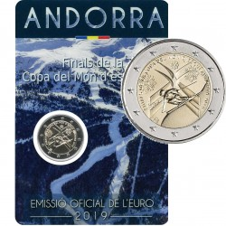 Andorra 2 euro 2019 WK Ski BU coincard