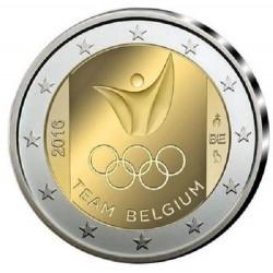Belgie 2 euro 2016 'Olympische Spelen in Rio' UNC