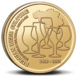 Belgie 2,50 euro 2021 Belgische Biercultuur UNC coin