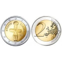 Cyprus 2 euro 2017 UNC - type 1